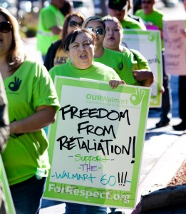 The NLRB is prosecuting Walmart for violating labor law when it fired and disciplined nearly 70 workers.