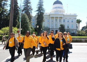 UFCW Local 1428 members traveled to Sacramento, Calif., to speak with legislators at the State Capitol about bills working families would like to see passed in their state.