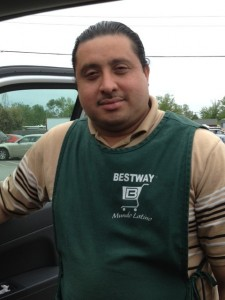 Luis Manzaneres served as a union election observer for his fellow Bestway workers.