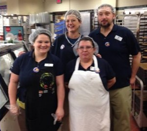 UFCW Kroger workers are participating in a solidarity button action to support Kroger  workers in two Virginia stores, as the company  attempts to keep them nonunion.