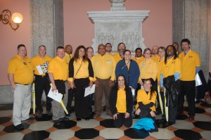 Over 100 UFCW members traveled to Columbus to lobby their state legislators against possible right to work legislation.