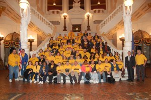 UFCW Locals 23 and 1776 spoke to their state legislators about liquor privatization and paycheck deception at the State Capitol in Harrisburg, Pa., last week.