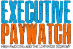 The AFL-CIO 2014 Executive PayWatch report shows that the U.S. CEOs were paid 331 times more than the average worker.