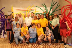 International President Joe Hansen and board members of UFCW OUTreach celebrate World Pride in Toronto.