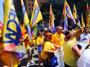 UFCW members from across North America celebrate World Pride in Toronto.