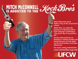 Kentucky McConnell Addicted to Koch