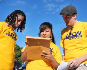 UFCW Members getting out the vote in Kentucky