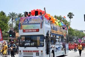 pride bus
