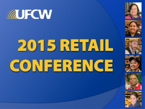 Retail Conference 2015 PPT Cover Slide