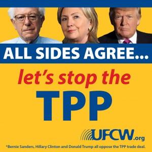 TPP-Trump-Clinton-Sanders