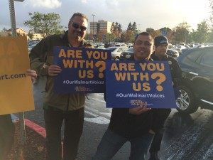 Oakland WM Rally Signs