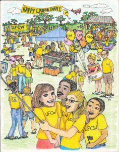 Runner Up2--Nancy Bacon--UFCW Labor Day Art Contest