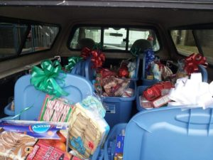 some of the generous donations to the Local 152 food drive last year