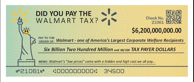 MCAW Sheds Light on How Walmart Costs Taxpayers
