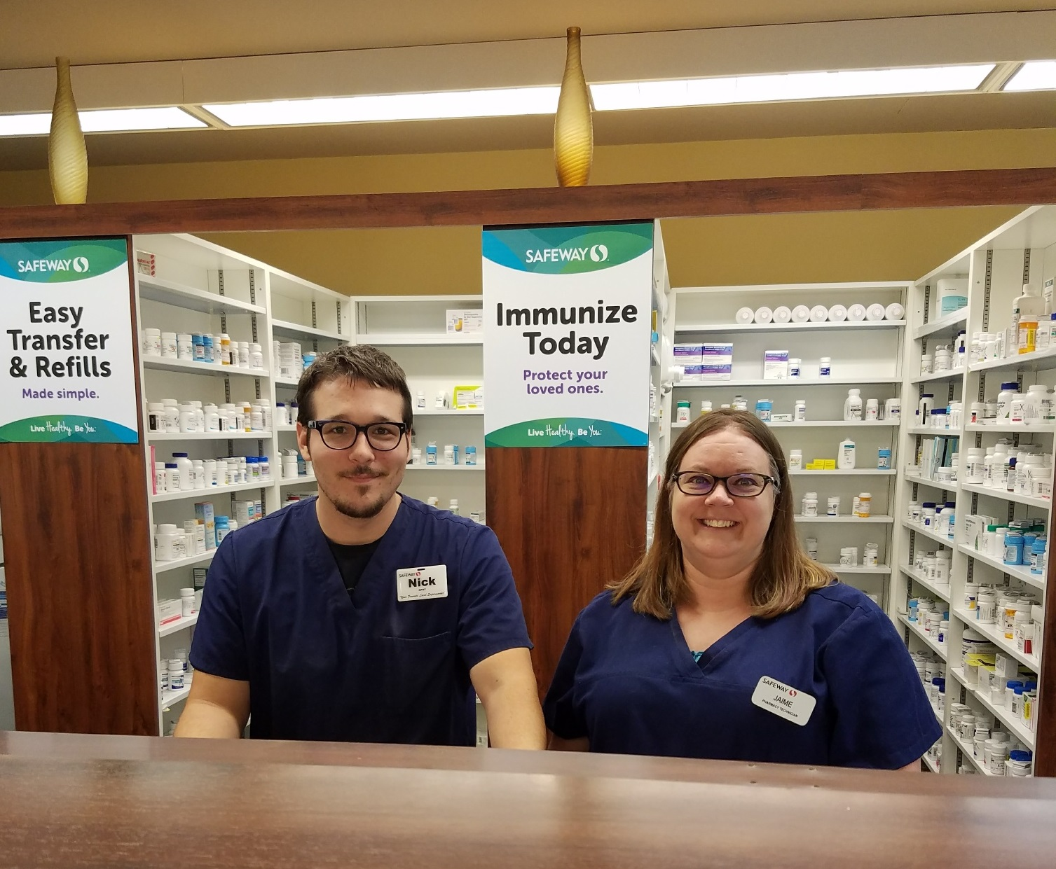 Local 7 Safeway Pharmacy Technicians in Wyoming Bargain for